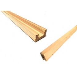 Kabelkanal aus Holz